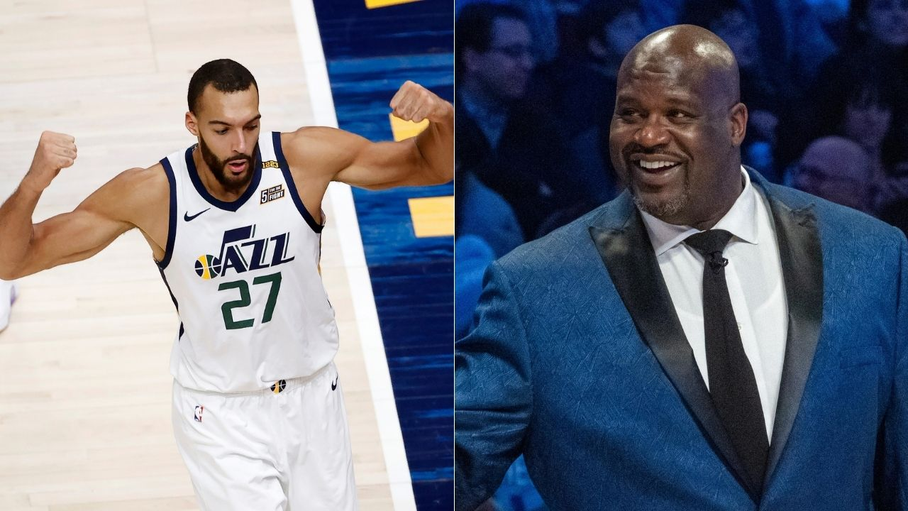'People want to speak negatively about me': Rudy Gobert responds to Lakers legend Shaquille O'Neal criticizing his $205 million contract with Utah Jazz