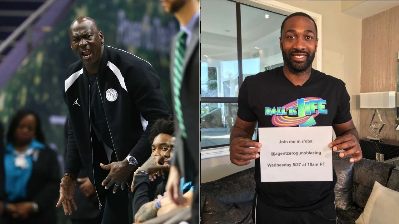 """""""Michael Jordan inspired this drill"""": Former Wizards star Gilbert Arenas reveals the drill he designed to emulate MJ in late-game situations"""