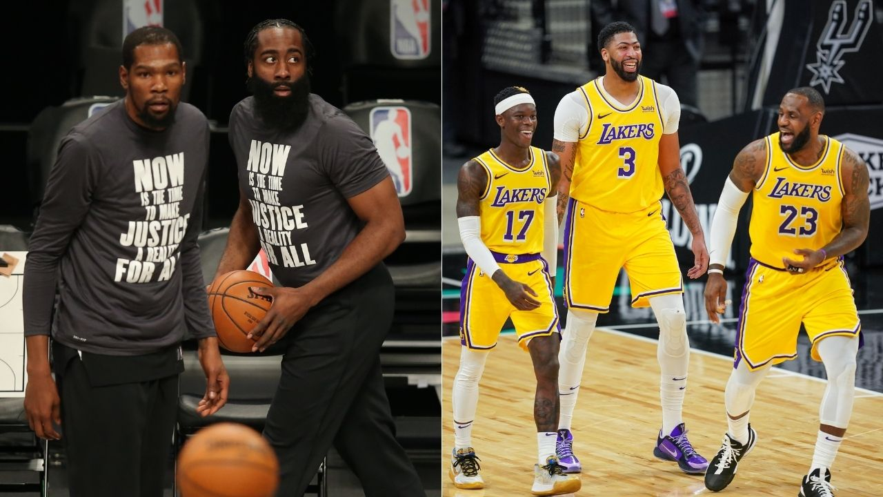 """LeBron James' Lakers are better than Kevin Durant and James Harden's Nets"": Bill Simmons explains why LeBron and co are still favorites for the title"