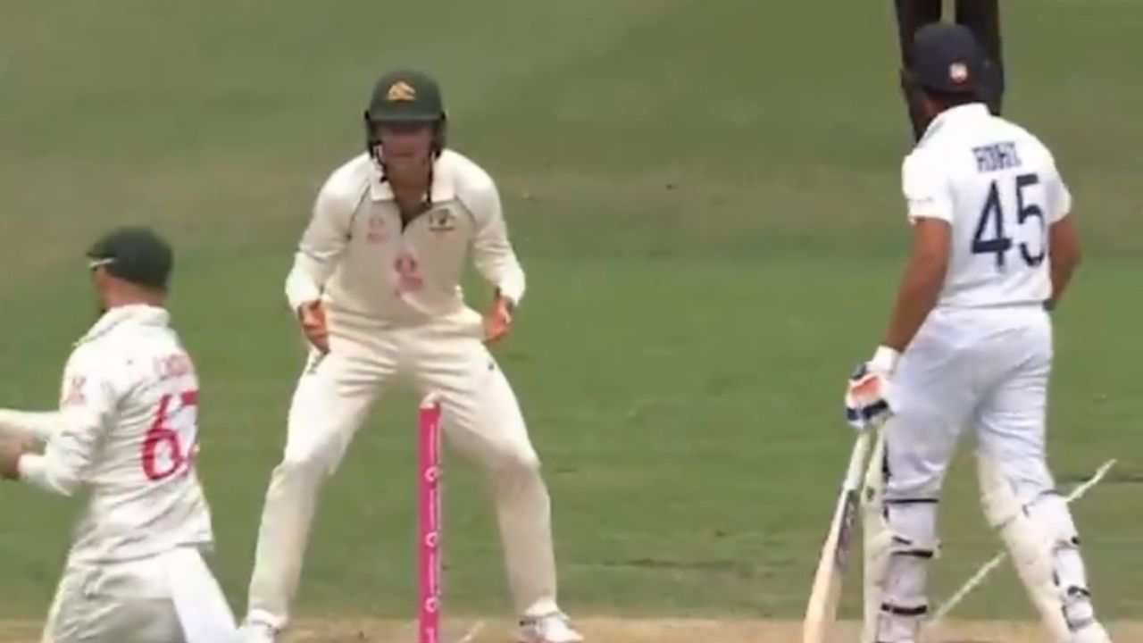 'What did you do in quarantine': Marnus Labuschagne asks Rohit Sharma at short leg after exchange with Shubman Gill