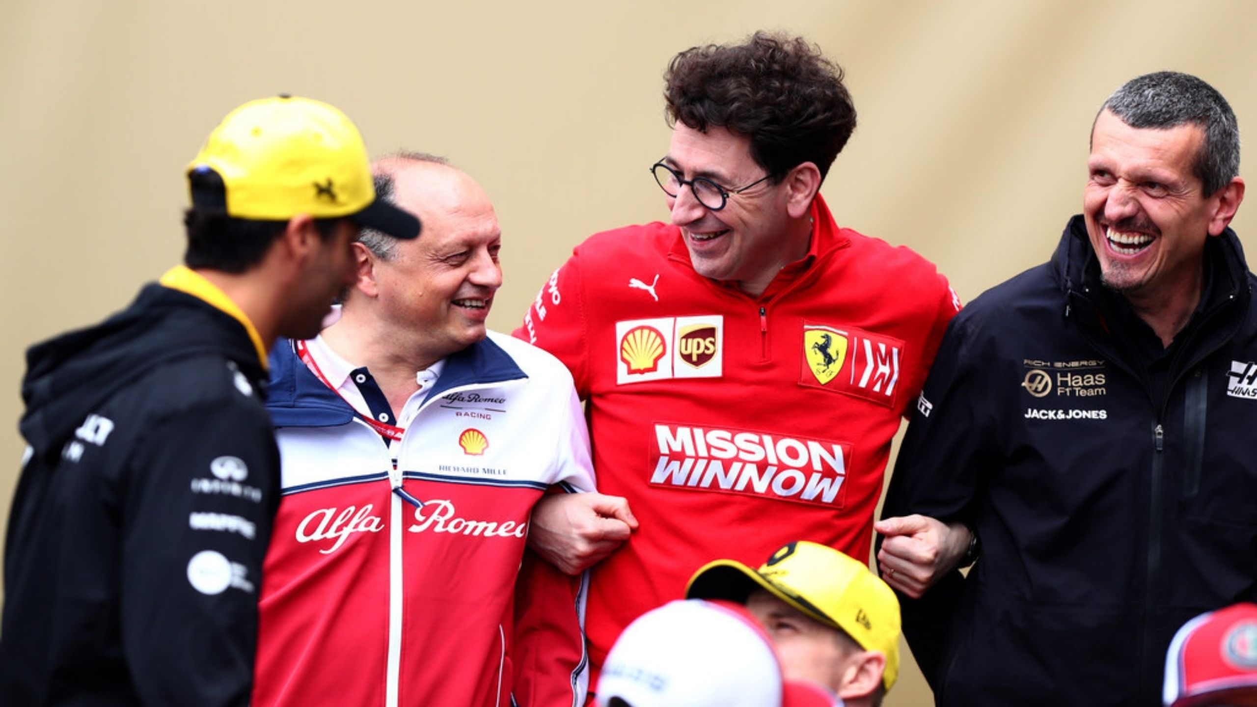 """The presence of client teams seriously helps us out"" - Ferrari boss Mattia Binotto grateful to Haas for impending debut of Mick Schumacher"