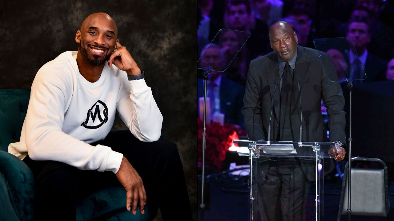 """I'll have to look at another crying meme"": How Michael Jordan and Kobe Bryant became confidantes after the Bulls and Lakers legends started off as rivals"