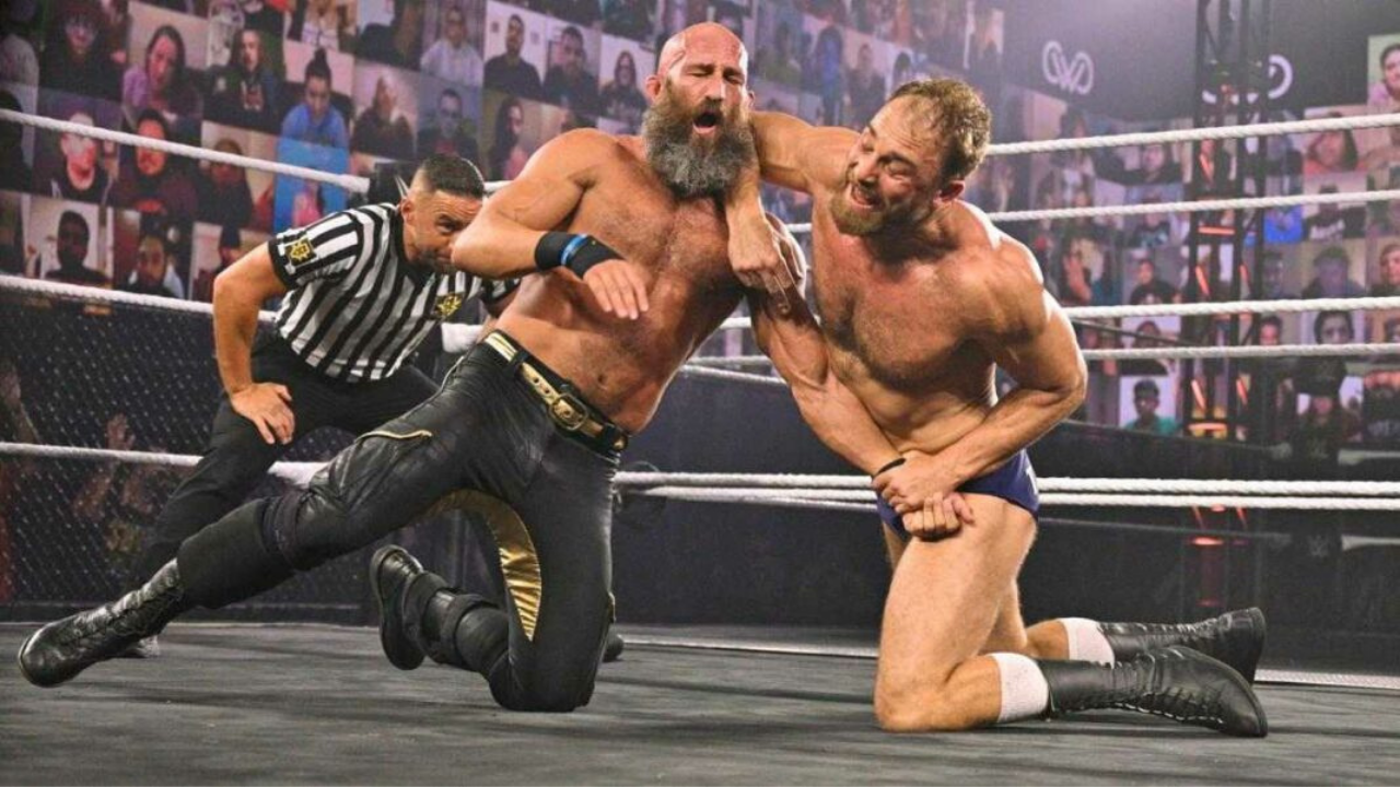 Tommaso Ciampa vs Timothy Thatcher Fight Pit match removed from NXT New Year's Evil