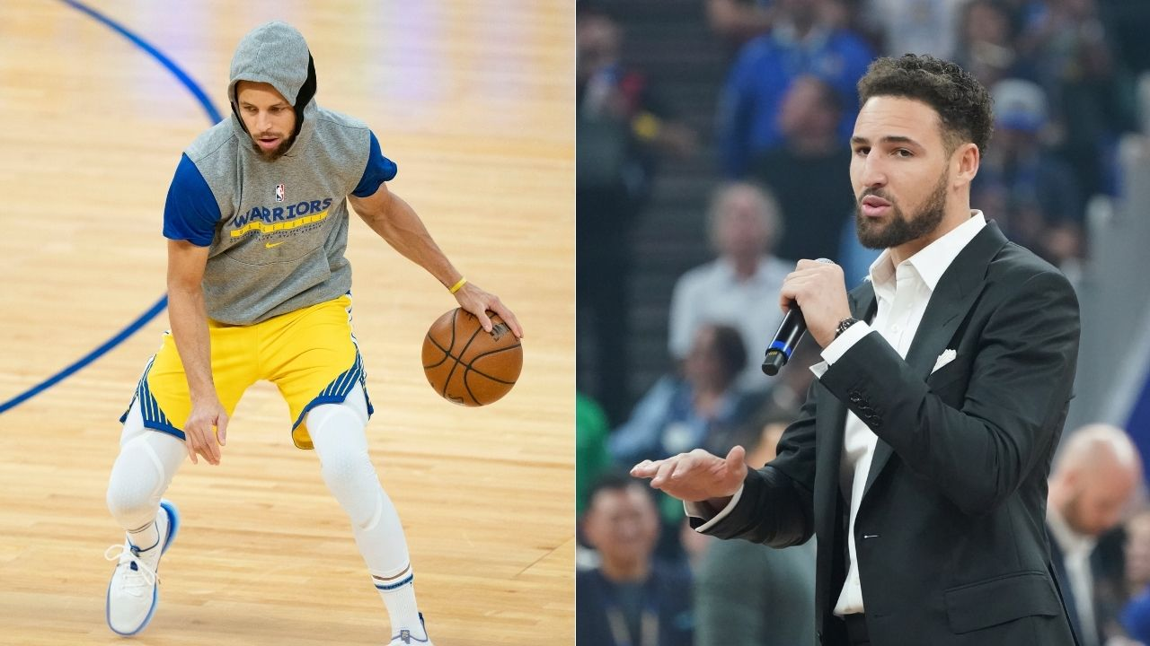 """Whose dad is a better commentator?"": Klay Thompson puts Warriors' Steph Curry on the spot with this postgame interview question"
