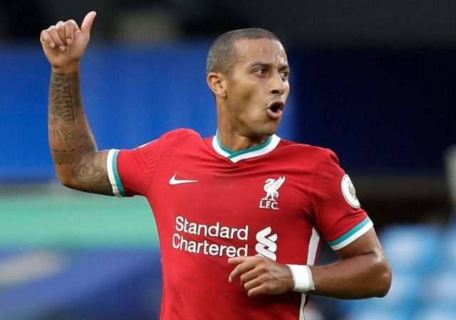 """""""Thiago slows the game down"""": John Barnes Circles In On The Midfielder As Liverpool's Waning Form Infront Of Goal"""