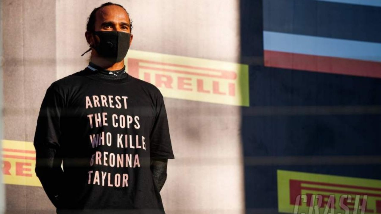 """""""We can always do more""""- Lewis Hamilton says F1 has to do more for human rights"""