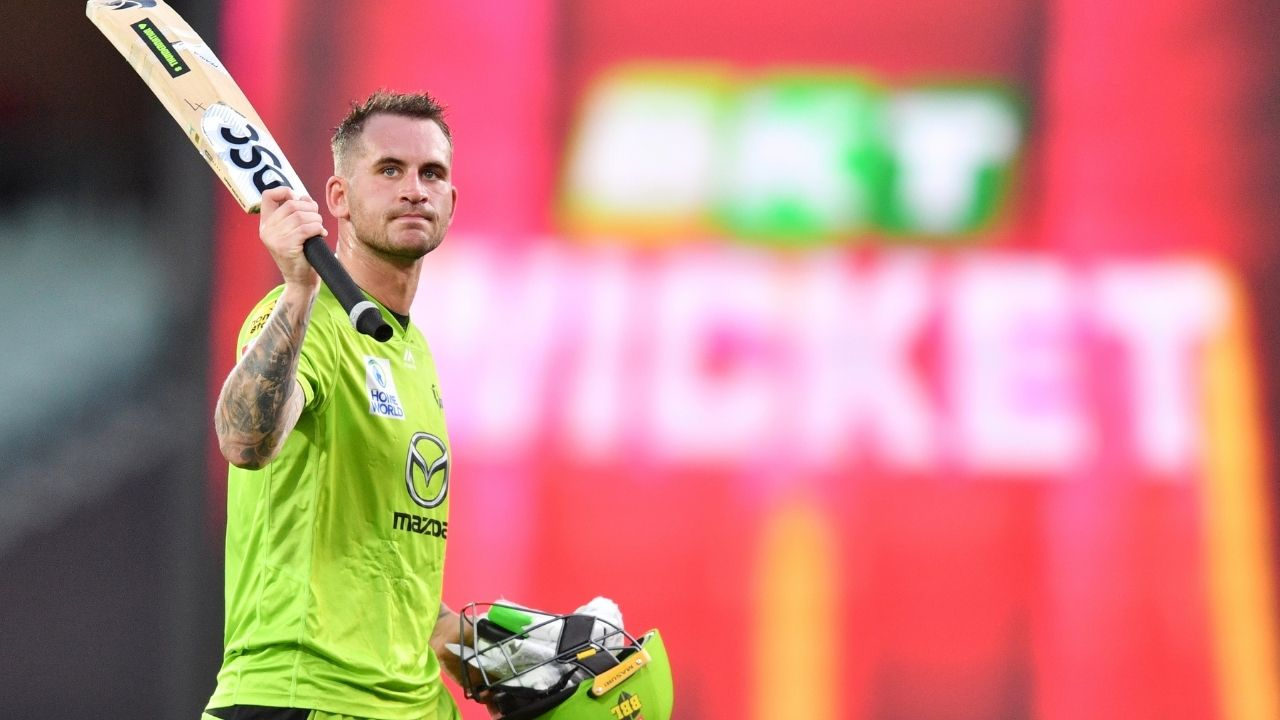 Most sixes in a BBL season: Sydney Thunder's Alex Hales registers most sixes in a Big Bash League season