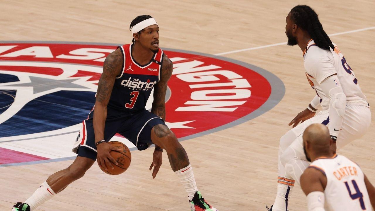 """""""Maybe we can move up from the parked cars"""": Bradley Beal hilariously quotes himself while praising Wizards defense following win over Chris Paul's Suns"""