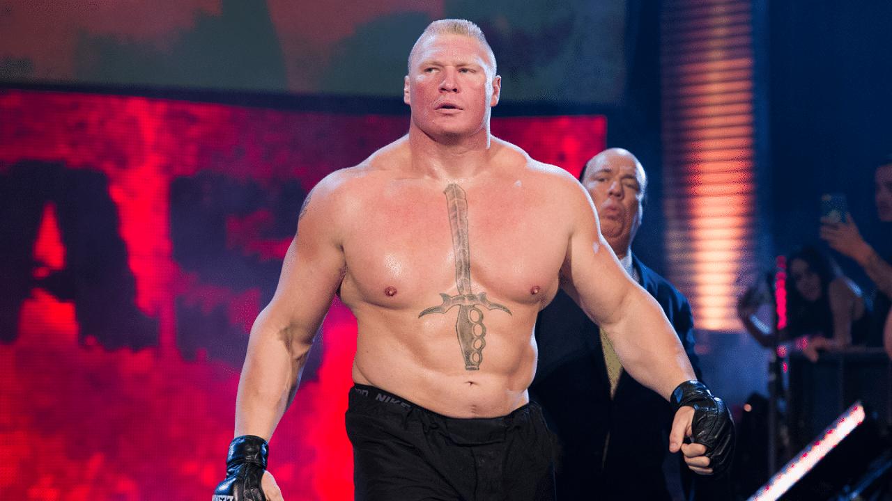 WWE star calls out Brock Lesnar on social media