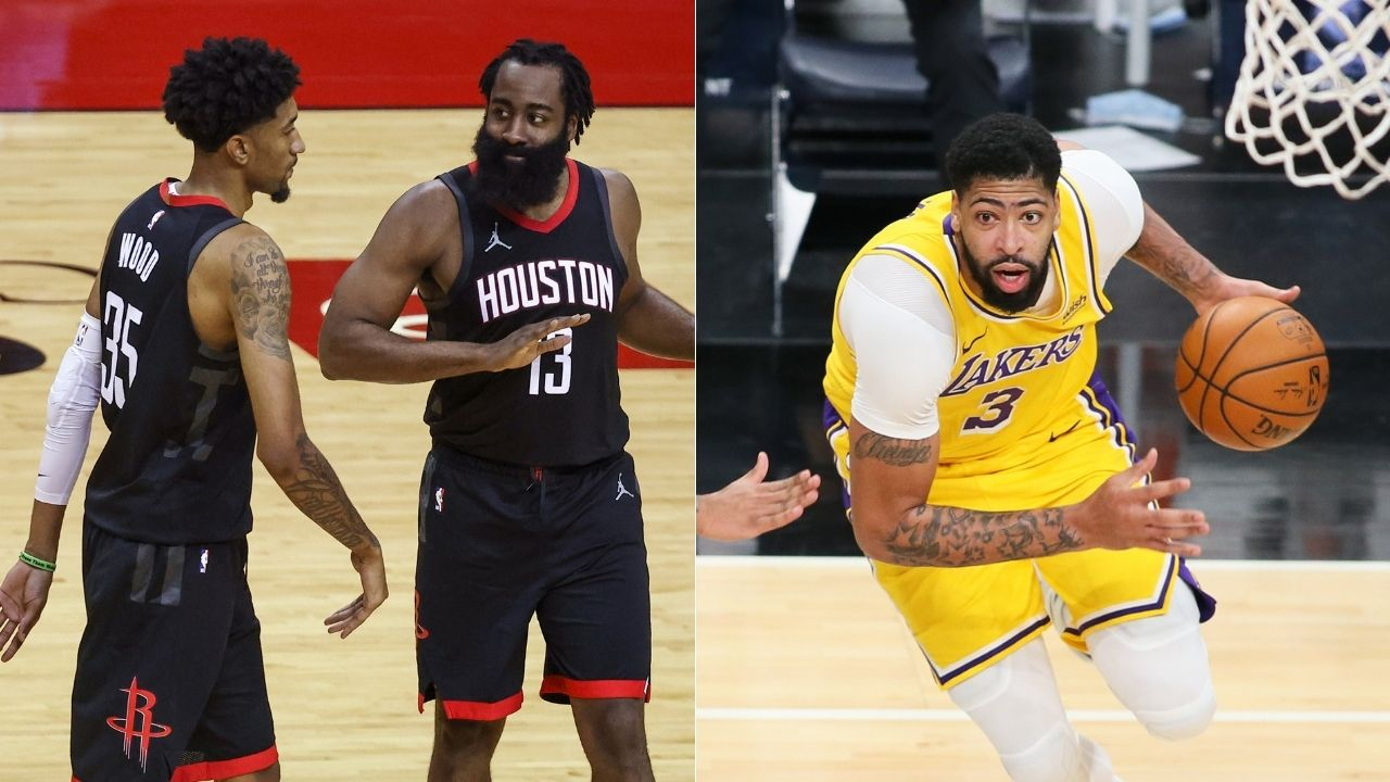 """""""I circled this game against Anthony Davis"""": Rockets' Christian Wood reveals his plans to give special performance against LeBron James and Lakers"""