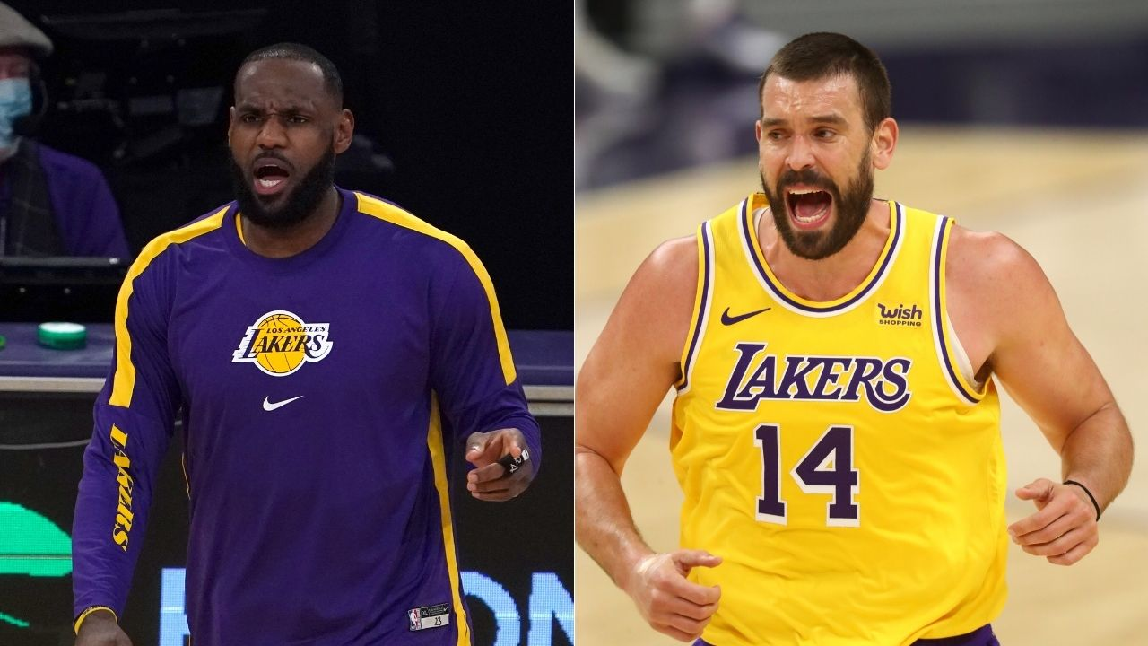 """""""LeBron James and Marc Gasol could be best duo in the NBA"""": Advanced stat shows how Lakers duo are dominating the league through 7 games"""