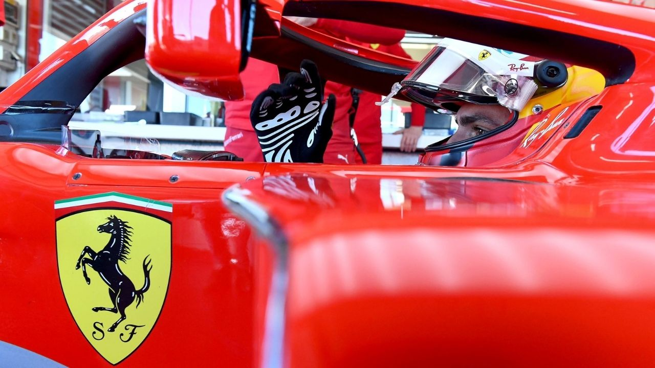 """""""He does not need any advice""""- Charles Leclerc after watching Carlos Sainz in Ferrari"""