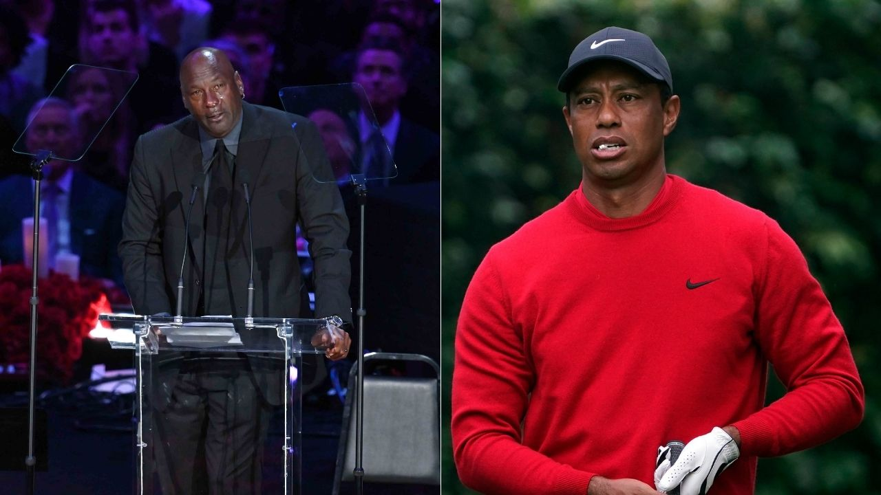 """""""You tell em you're Tiger Woods"""": When Michael Jordan and Derek Jeter had to give dating advice to the golf GOAT to settle his nerves in a New York nightclub"""