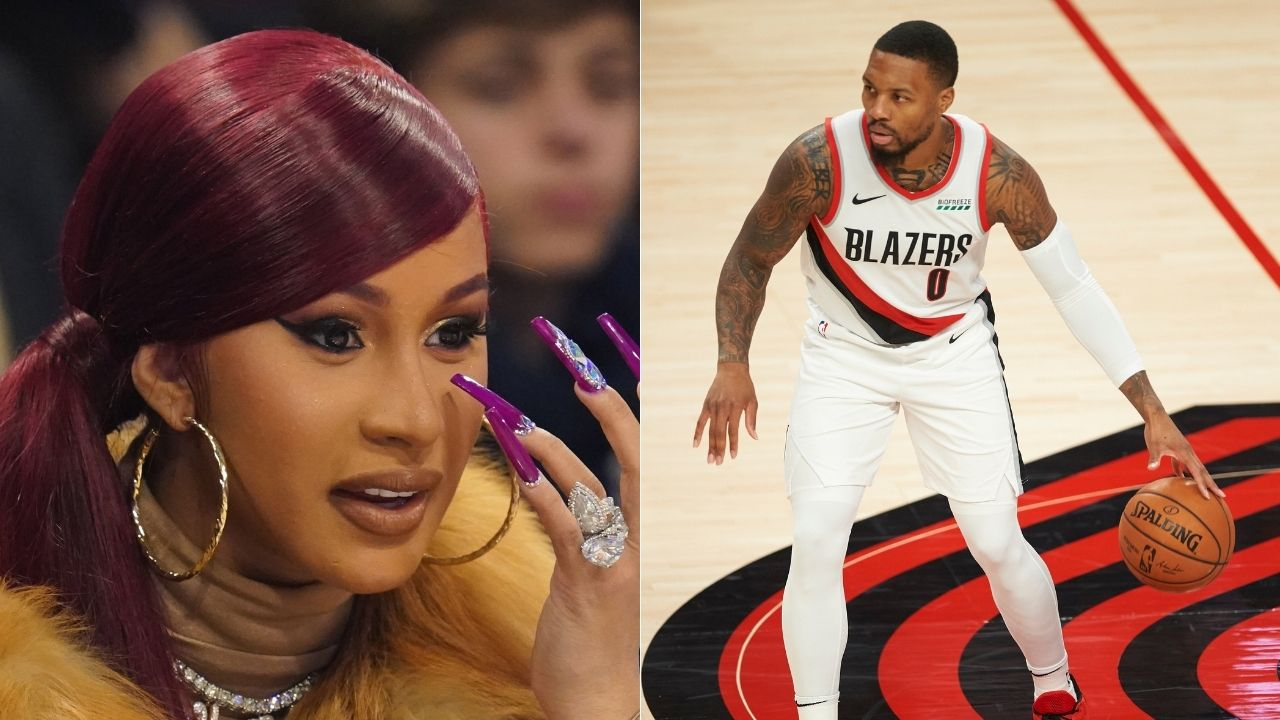 'Damian Lillard taught Cardi B how to hoop': Blazers star becomes latest feature on Grammy Winner's 'Cardi Tries' show