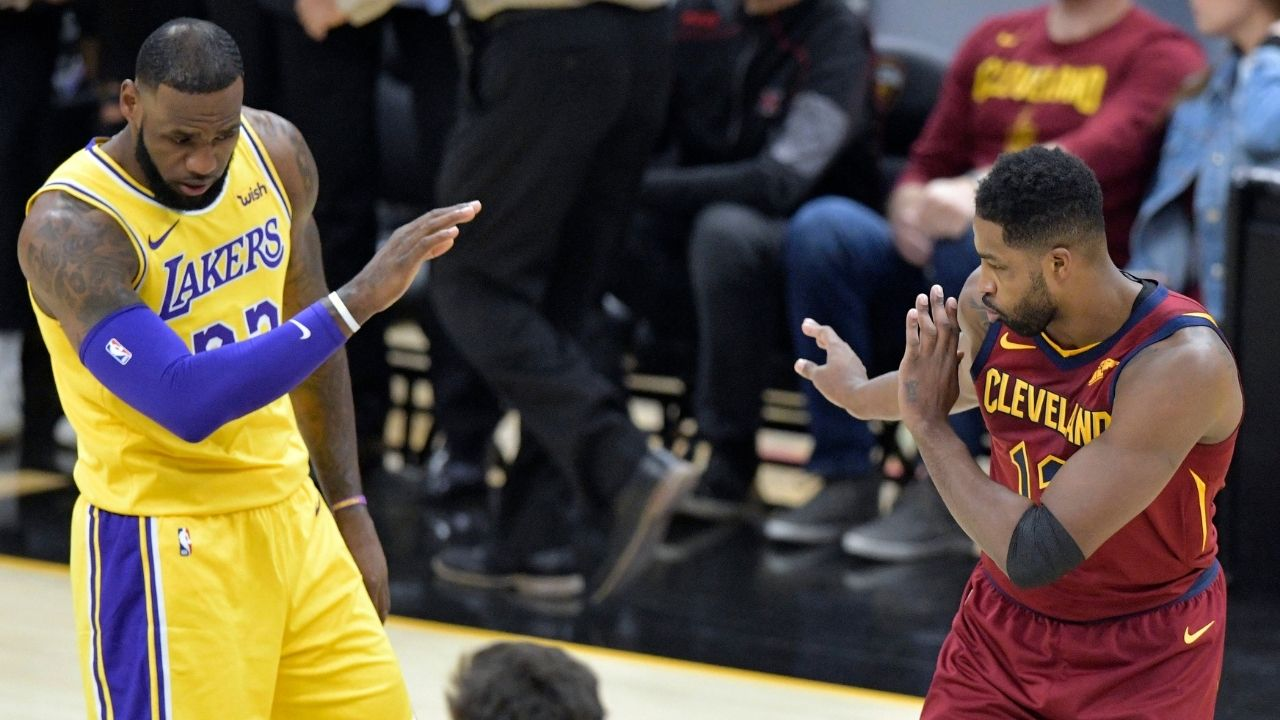 """""""LeBron James is the best player on the planet"""": Celtics' Tristan Thompson predicts their game against the Lakers will be 'a bloodbath'"""