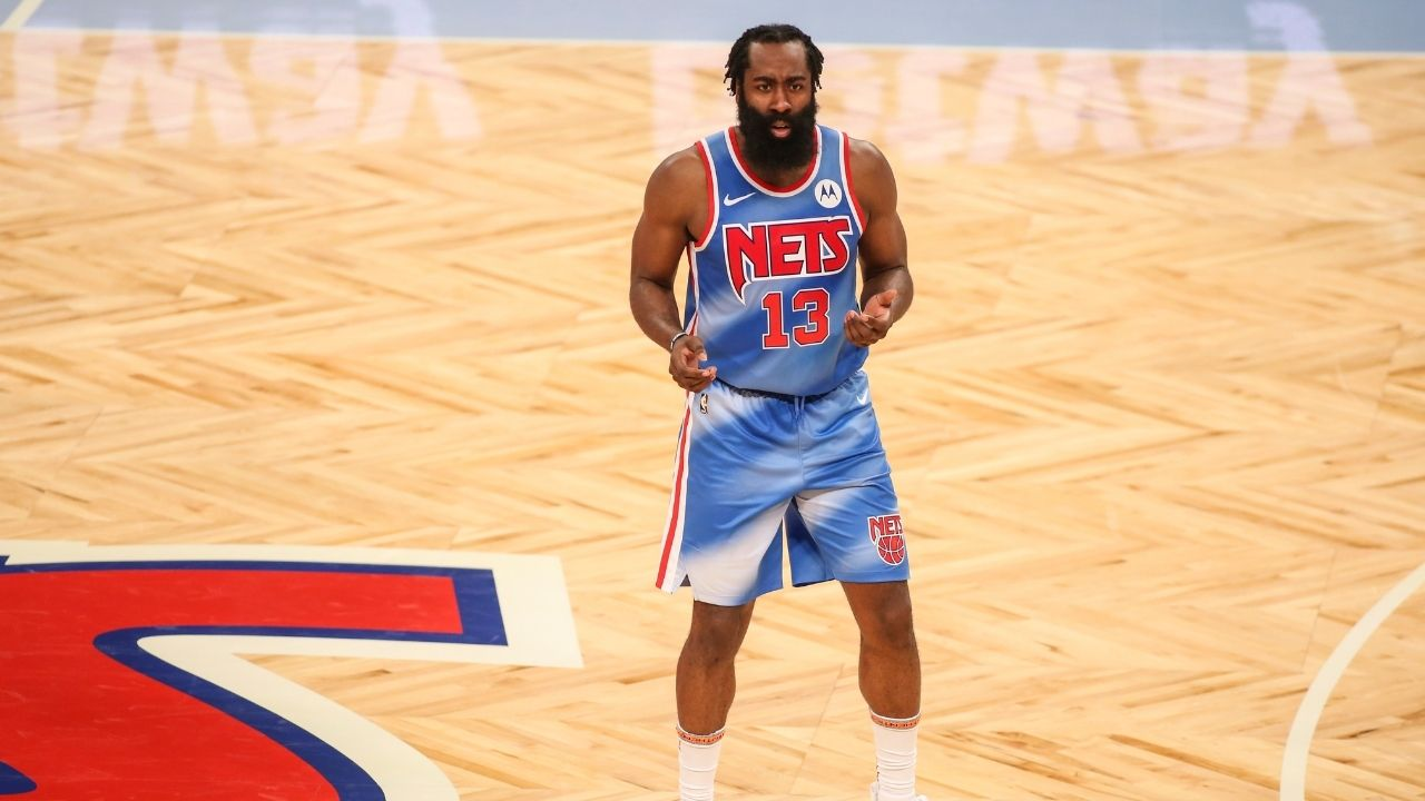 """""""James Harden definitely wore a fat suit with Rockets"""": Fans shocked after seeing Brooklyn star's slim physique in Nets debut"""