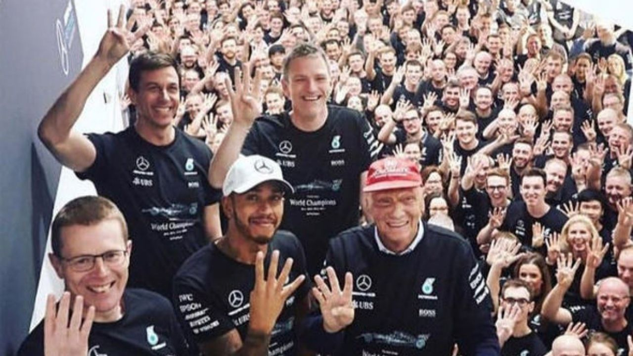 """""""It's not one-dimensional""""- Toto Wolff says Lewis Hamilton's mindset makes Mercedes a perfect ensemble"""