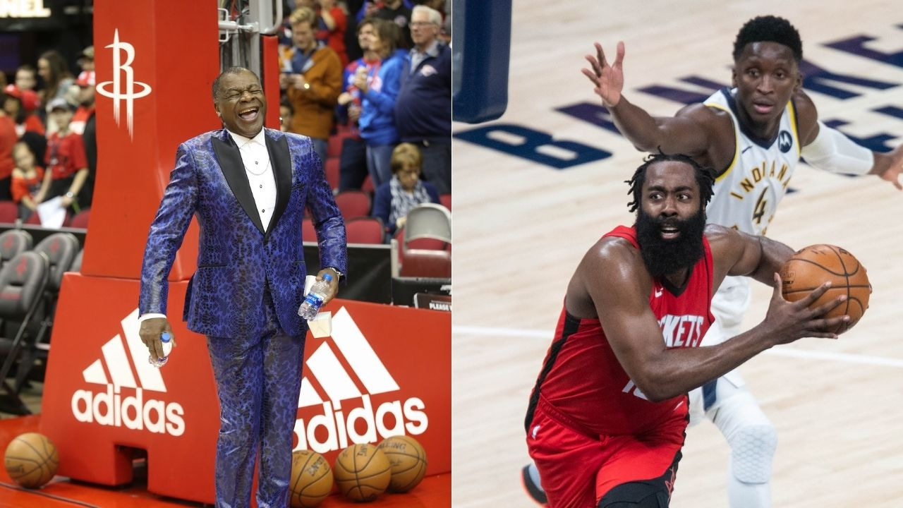 """""""He quit"""": Rockets announcer Calvin Murphy takes a jab at James Harden during game against Indiana Pacers on hot mic, lands in hot water"""