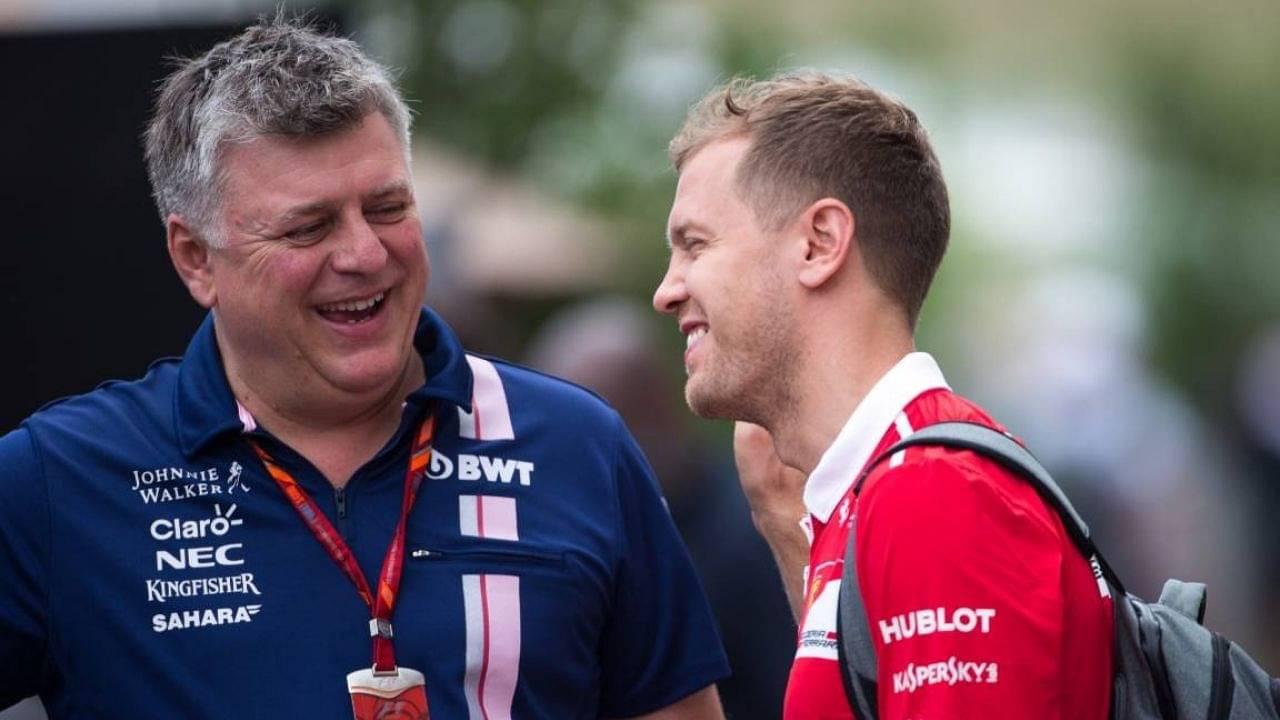He Has Got To Teach Us Otmar Szafnauer Wants Sebastian Vettel To Lift Aston Martin The Sportsrush
