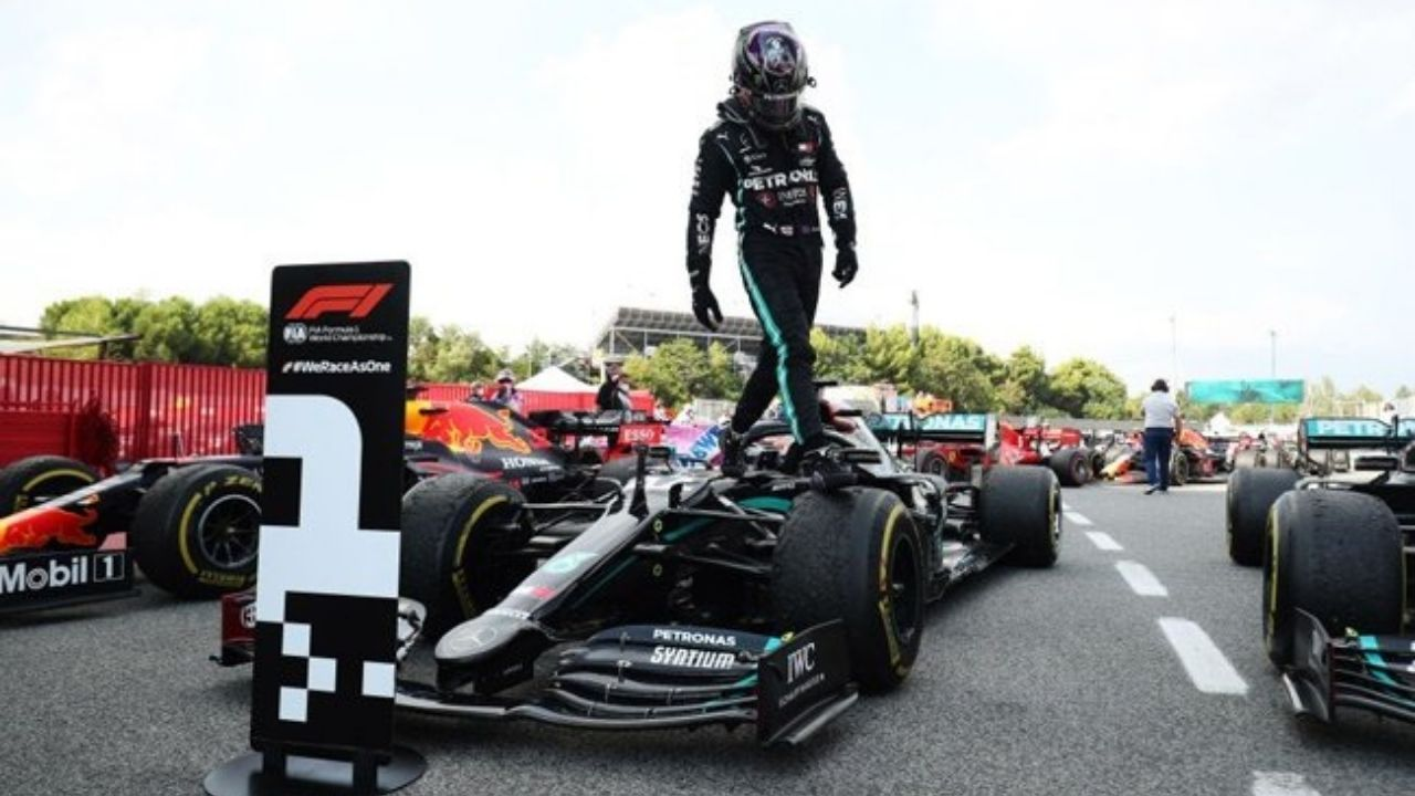 """""""I already get difficulty pronouncing the number""""- Lewis Hamilton nervous for 8th title battle"""