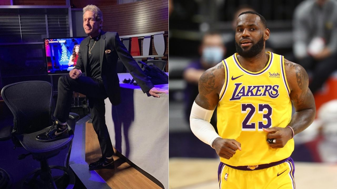 """""""I'd take Kevin Durant and Kyrie over LeBron James and AD"""": Skip Bayless mocks Lakers stars for not having clutch gene like their Nets counterparts"""