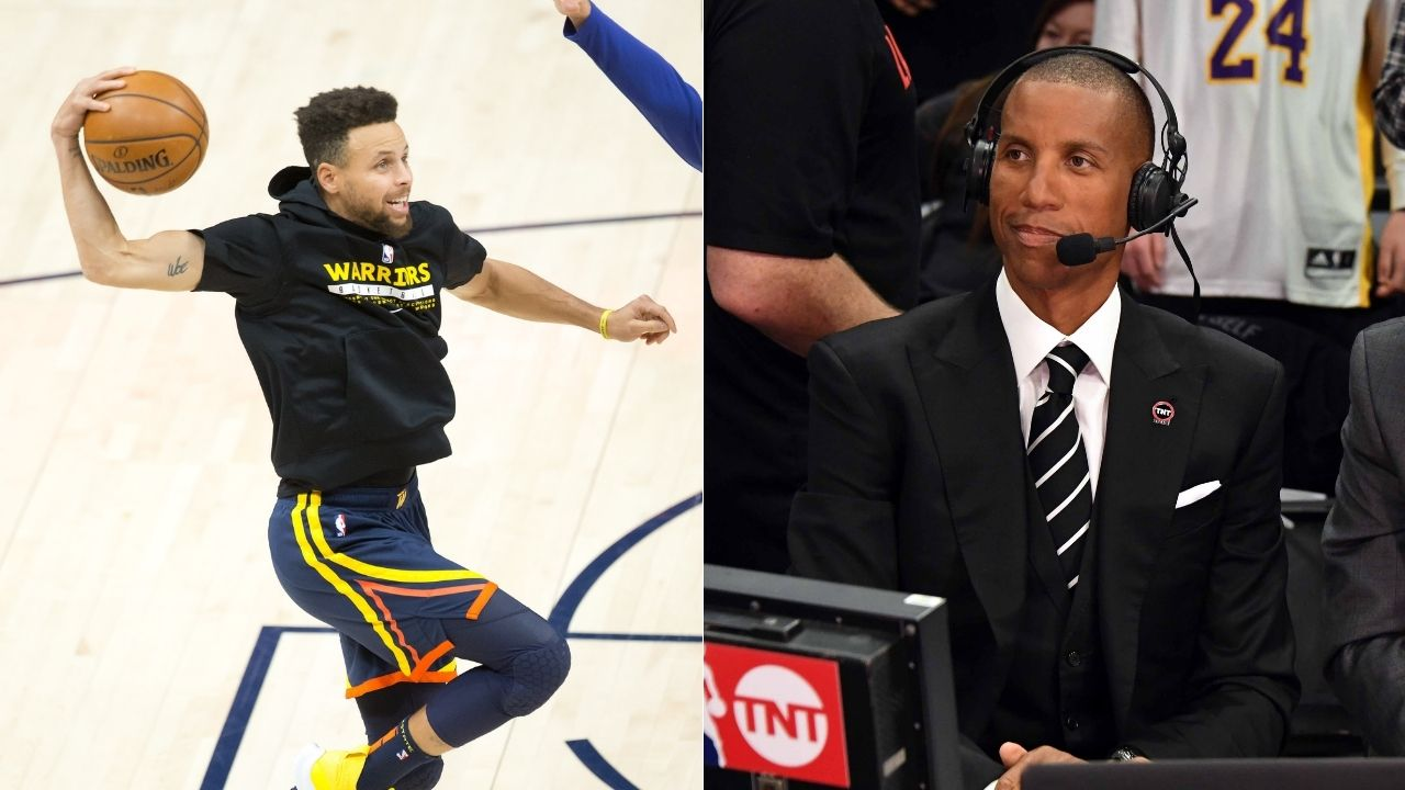 """""""Steph Curry you're an inspiration to many little ones like mine"""": Reggie Miller and his son congratulate Warriors MVP on his 3 pointers made milestone"""