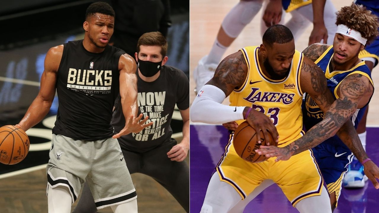 """""""Peak Giannis Antetokounmpo is closer to Anthony Davis than LeBron James"""": Zach Lowe's insightful observation on Bucks star's change in style of play this season"""