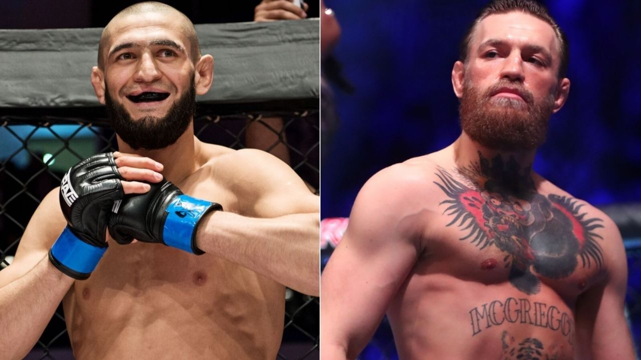 'The Chicken is Back': Khamzat Chimaev Mocks Conor McGregor Before His Return On UFC 257