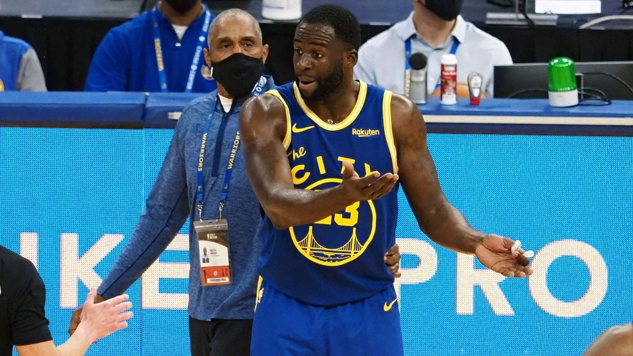 """""""Its timeDraymond Greenactually showed up"""": Kendrick Perkins backtracks on his previous praise, lambasts Warriors star for not supporting Steph Curry"""