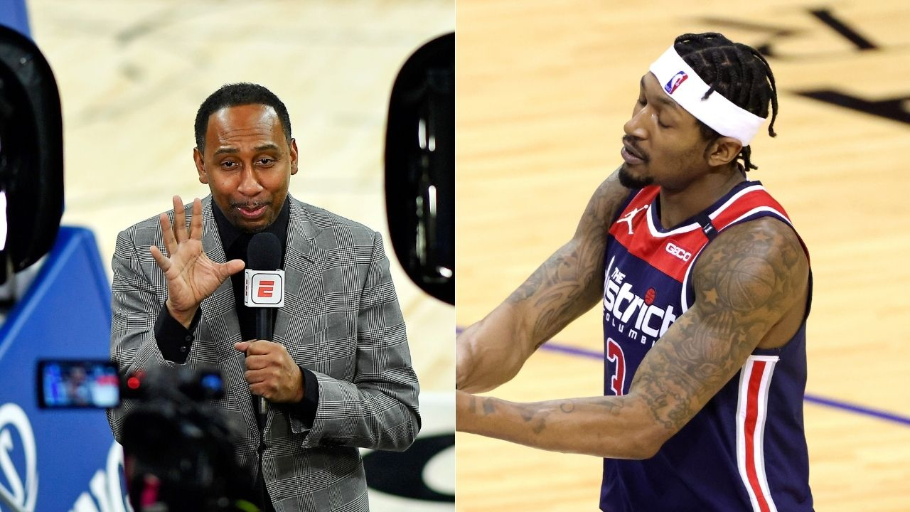 """""""Clippers with Bradley Beal are a different story"""": Stephen A Smith demands Wizards front office to trade star to Clippers, challenge LeBron James' Lakers"""
