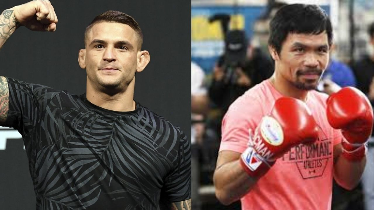 """""""Thanks Manny!"""": Dustin Poirier Responds To Manny Pacquiao After The Boxing Legend Left An All Praise Remark For The Diamond"""