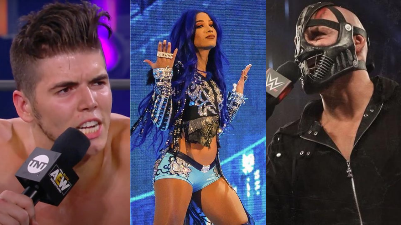T-Bar brings up Sammy Guevara's provocative comment on Sasha Banks