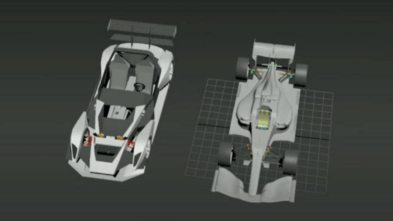Watch: Team of mechanics convert Mercedes-Benz S-Class into Mercedes F1 car