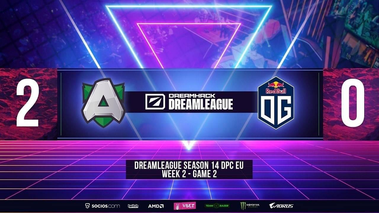 Alliance vs OG DPC 2021: Alliance defeat 2-time TI Champions OG in Upper Bracket of EU region