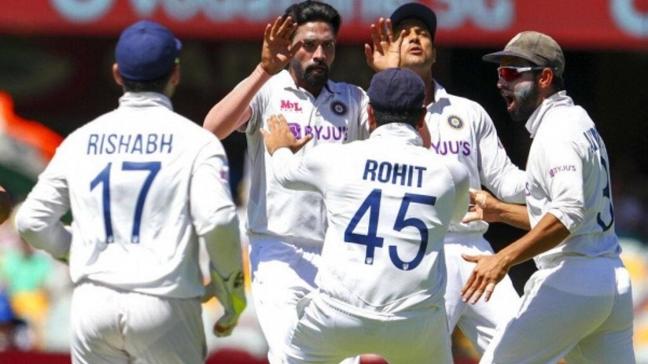 Bloody grub: Mohammed Siraj verbally abused in Brisbane Test vs Australia