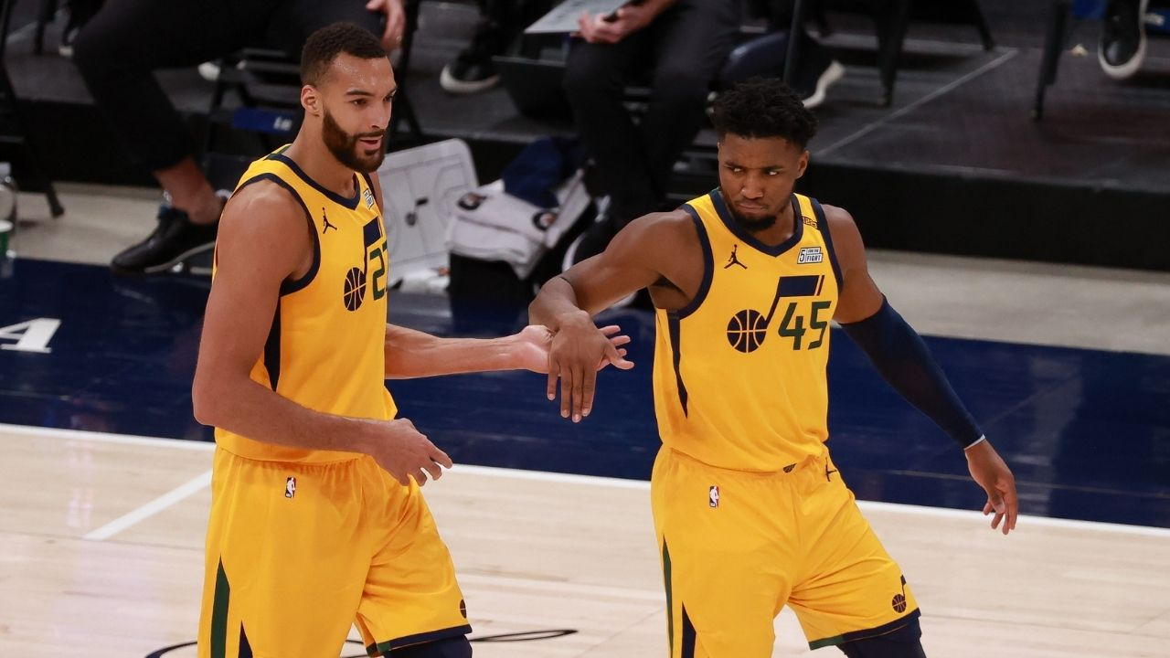 """""""F**k your predictions"""": Rudy Gobert takes shots at haters like Shaquille O'Neal after Jazz overtake LeBron James' Lakers with 10 straight wins"""