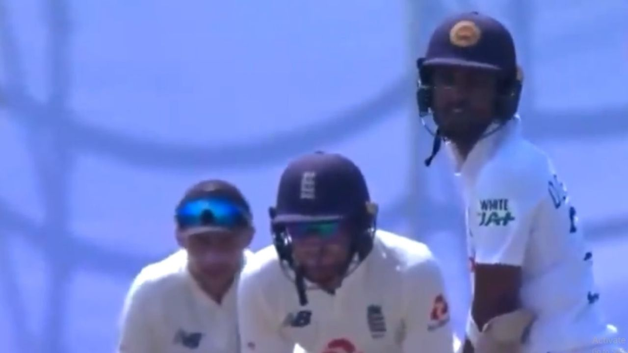 """Throw your wicket away"": Dinesh Chandimal falls to Joe Root's verbal tactics as James Anderson grabs outstanding catch"