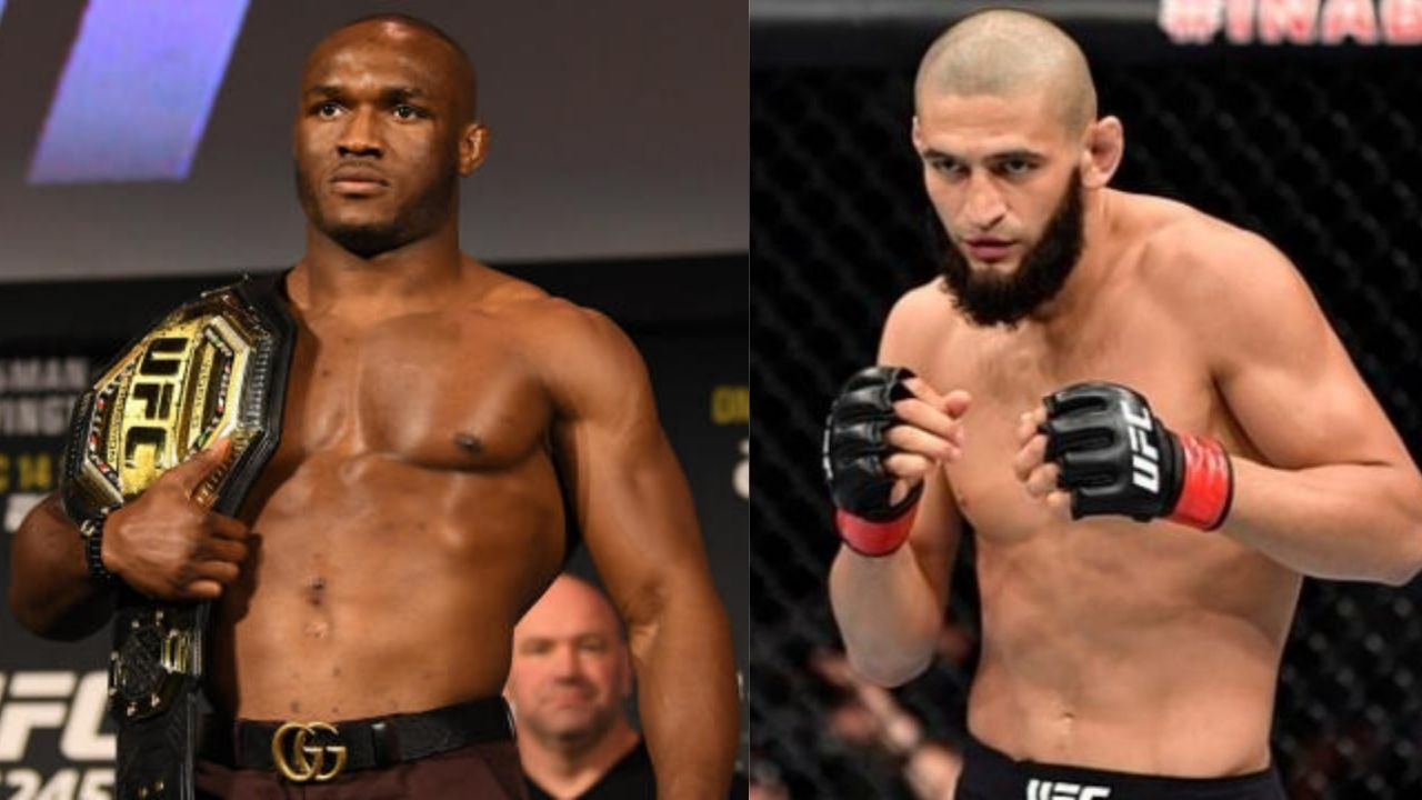 'I'm borderline proud of Khamzat Chimaev': Kamaru Usman heaps praise on rising Welterweight prospect for 'playing the cards right' in UFC
