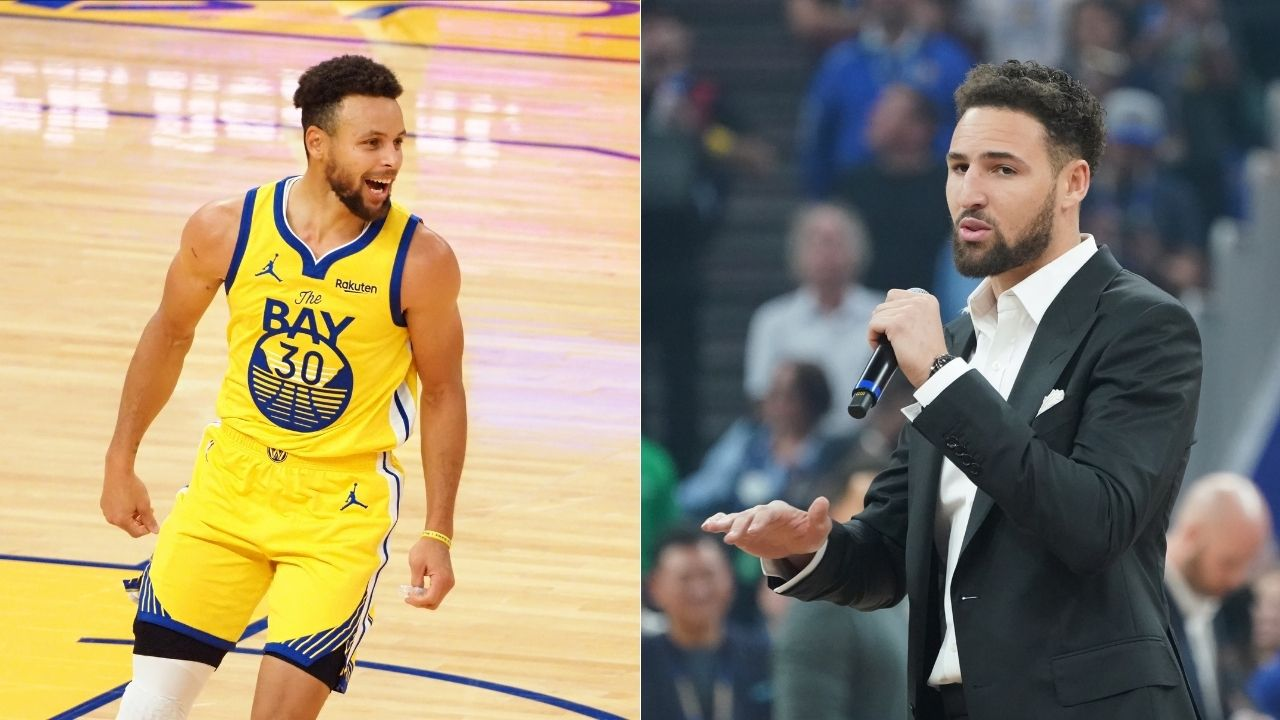 """""""You still got the 14 3-pointers tho!"""": Klay Thompson has hilarious reaction to Steph Curry's 62 point night, Curry responds"""