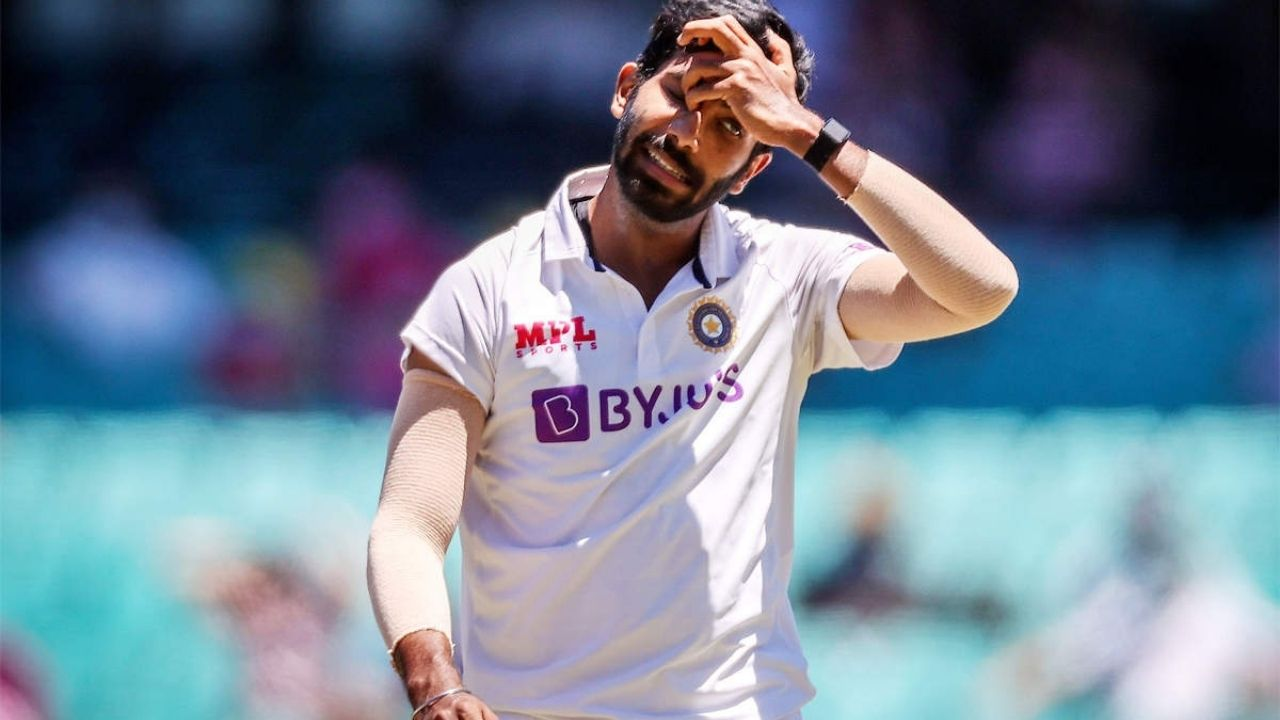 Why is Jasprit Bumrah not playing today's 4th Test between Australia and India at the Gabba?