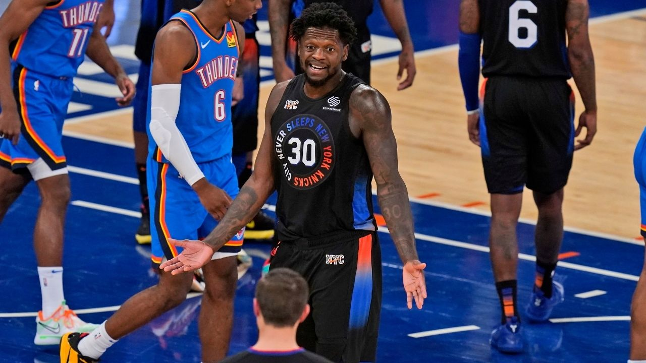 """""""Julius Randle is ballin' right now"""": Knicks All Star candidate is playing historically well to start the 2020-21 season"""