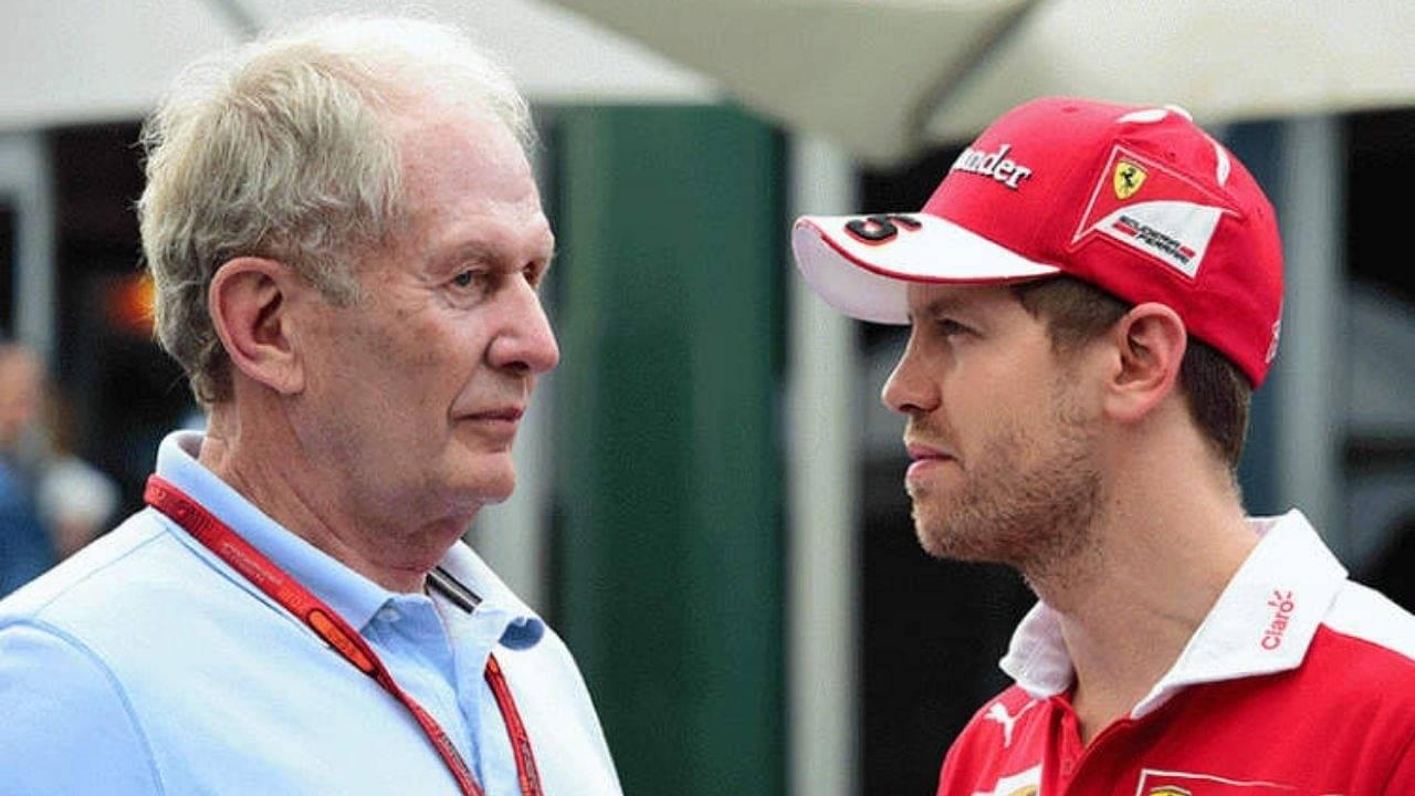 """Sebastian should take a year off""- Helmut Marko advised Sebastian Vettel to take sabbatical for better 2022 prospects"