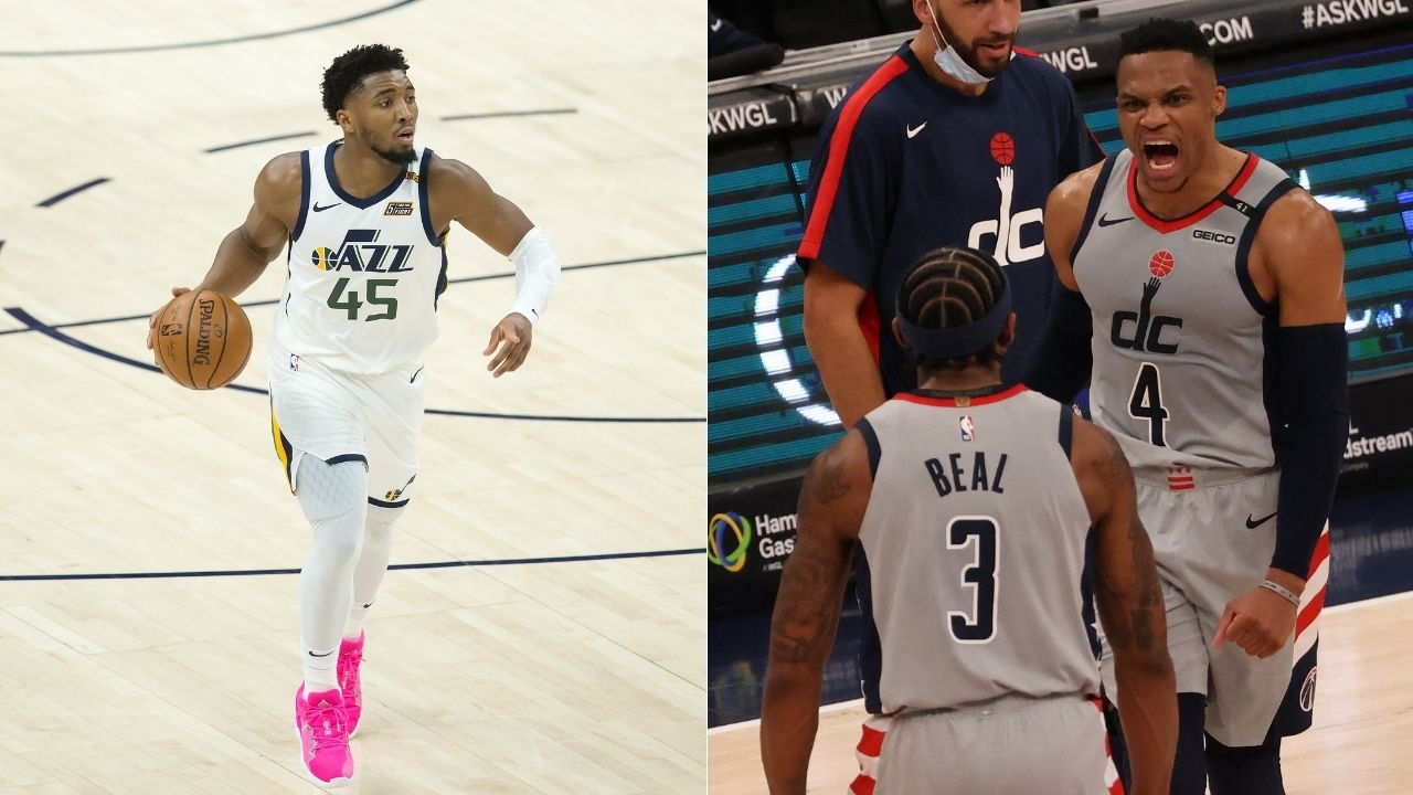 """I'm taking Russell Westbrook over Donovan Mitchell all day long"": Shaquille O'Neal continues to disparage Jazz stars despite their league-best 20-5 record"