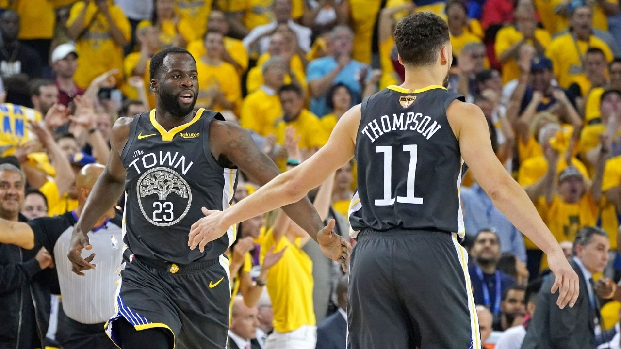 """""""Klay Thompson is the old man now"""": Draymond Green is appreciative of the presence of Warriors star so he can cuss out younger players"""