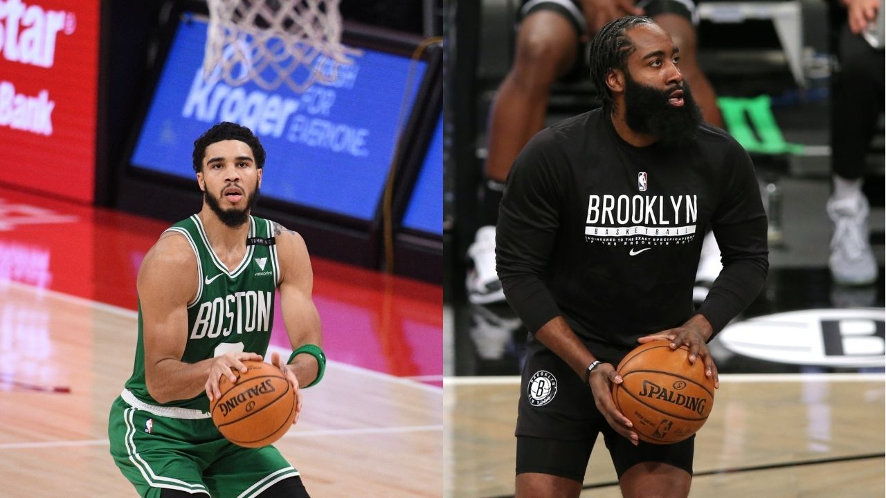'Jayson Tatum is a better scorer than James Harden': Kendrick Perkins pinpoints how Celtics star leaves Nets superstar behind in terms of pure scoring