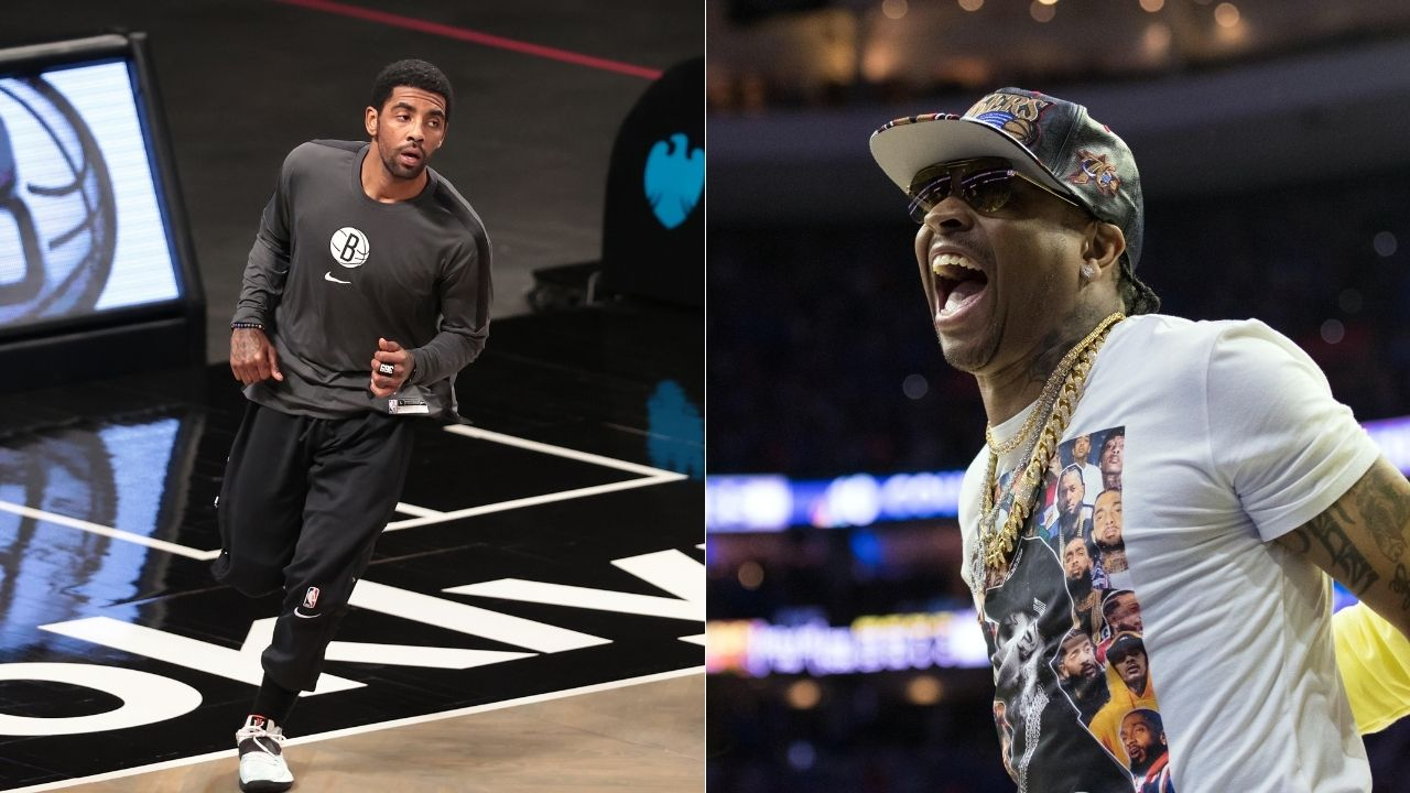 """Kyrie Irving is more skilled than Allen Iverson"": Brooklyn head coach Steve Nash sings Nets star's praise while comparing him to 76ers legend"