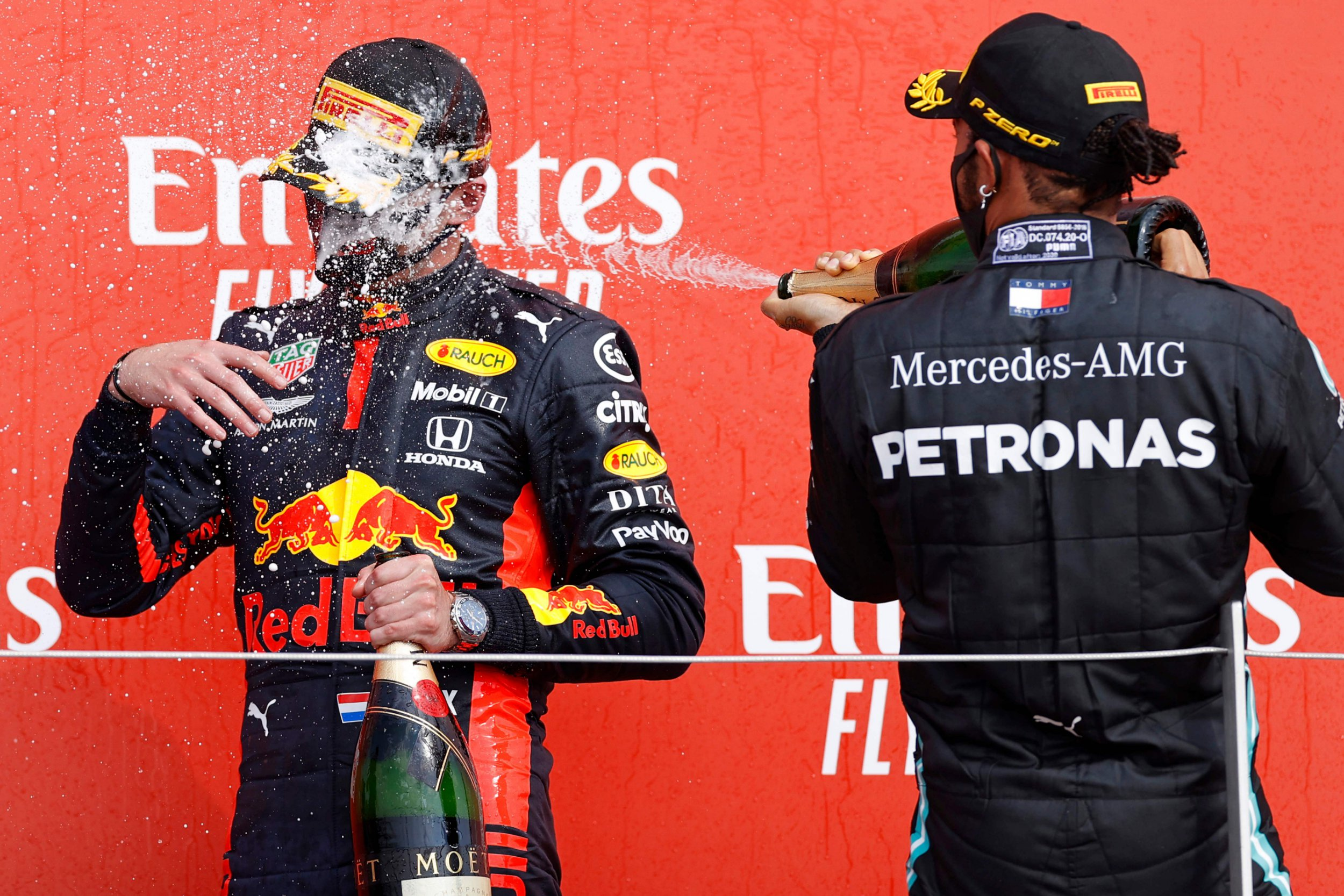 """Max Verstappen to Mercedes: Speculation heats up as Red Bull driver quips he doesn't """"know what Lewis is going to do"""""""