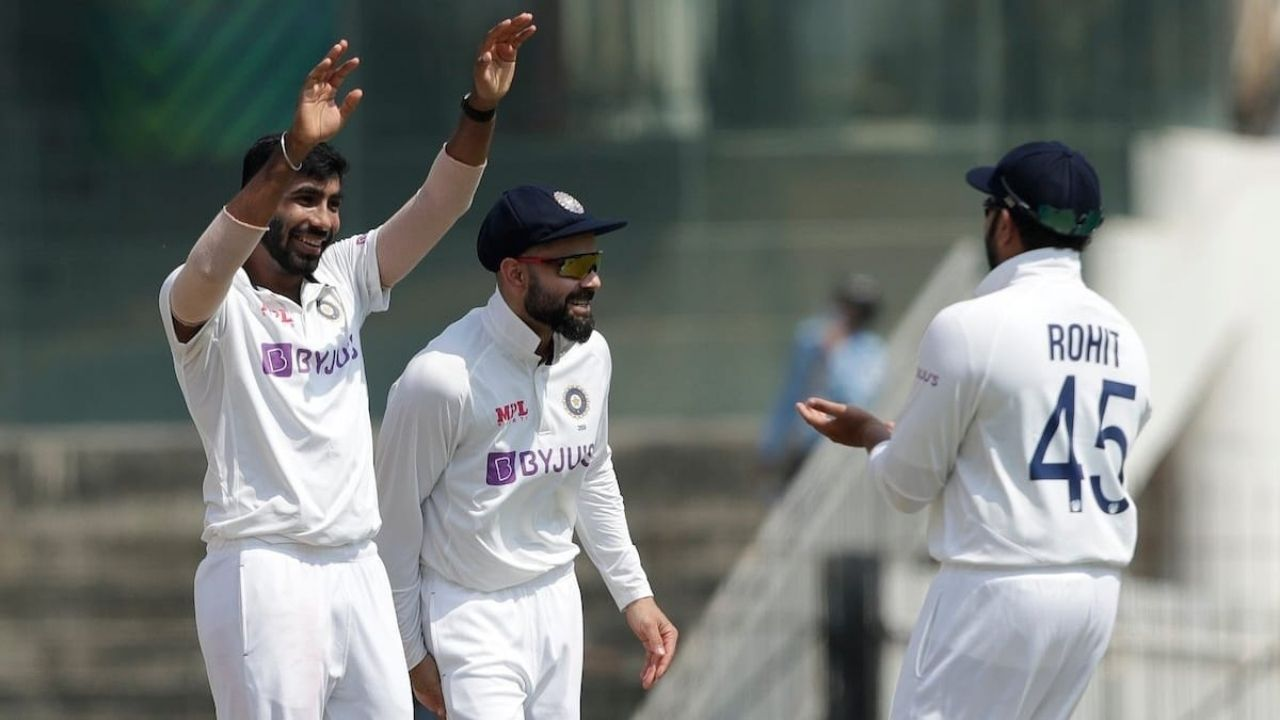 Why is Jasprit Bumrah not playing today's 2nd Test between India and England at the Chepauk?
