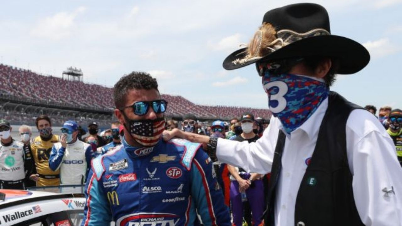 """""""You'd have to learn how to adapt""""- Bubba Wallace emphasizes learning from NASCAR legends"""