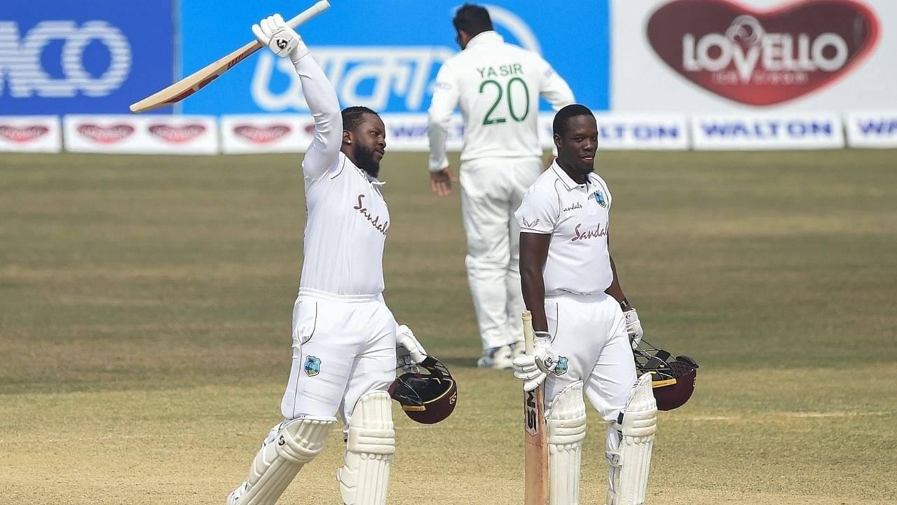 Kyle Mayers: Twitter reactions on Mayers and Nkrumah Bonner sealing historic 395-run chase vs Bangladesh